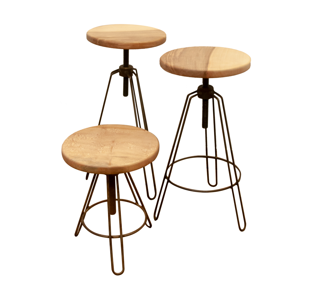 Stools - commissioned bu Isca Woodcraft